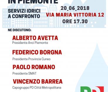 Acqua in Piemonte
